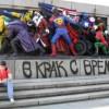 Кой превърна братушките от паметника на съветската армия в анимационни герои