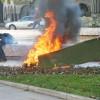 Ужас! Мъж запали жена на гробището в Кюстендил!