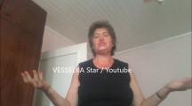 ЖЕНА Е НОВИЯТ ДЖОРДЖАНО! Баба Веси пее като Магарица на неразбираем език и помпа мускули! + ВИДЕО