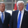 Задава ли се икономическа ВОЙНА между Европа и САЩ! Ето как се заканиха Туск и Тръмп: