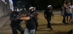Още едно Видео с полицейско насилие срещу мирно протестиращи граждани! Виж Тук: