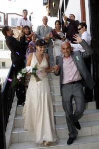 Сватбата с колегата й- оператора Добромир!