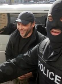 Баретата- усмихнат до уши при ареста