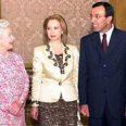 Антонина и Петър Стоянов на аудиенция у Британската кралица в Бъкингам!