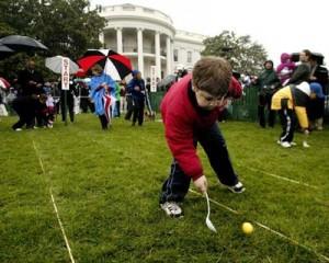Игри с яйца в Белия дом