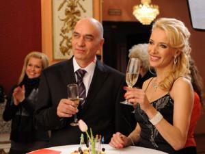 С колегата Георги Кадурин като тузарите Атанасови от сериала!