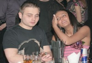 Жоро и бившата му приятелка Николета Лозанова