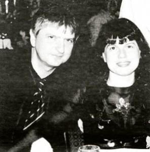Лъчезар Иванов с бившата си съпруга