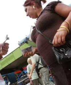 На Женския пазар контрабандата процъфтява
