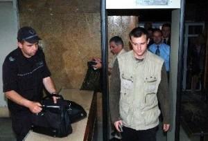 Димитър Стоянов след задържането в РДВР - София