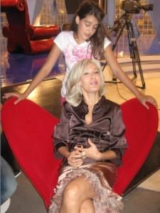 С дъщеря си Мари