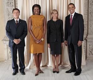 Жилива с Барак Обама