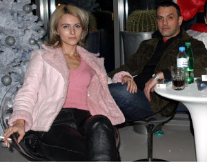 Юки и бившата му вече съпруга Бонка