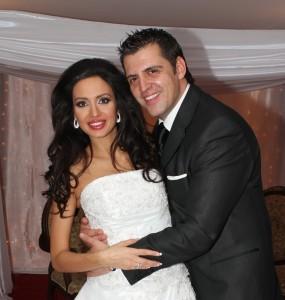 Наталия и съпругът й Джордже Михалевич!