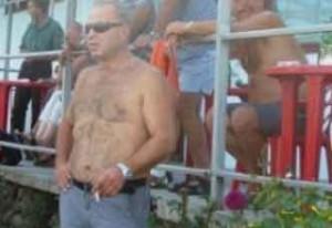 """Юри Галев на мач на отбора си """"Рилски спортист"""""""