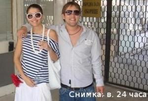 Биляна със съпруга си - мъжа, на когото слага рога с Витомир