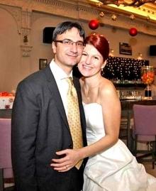 Трайков и съпругата му Любов
