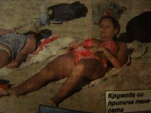 Лора Крумова съвсем се разплу