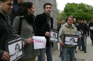 Протест за справедливо наказание на убийците