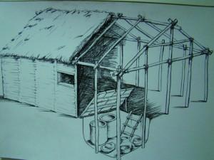 Така изглеждали къщите на неолитнити хора от Ябълково