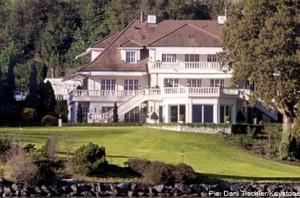 Домът на Рич в Швейцария