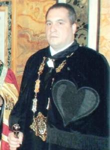 Слави Бинев на церемонията в Рим
