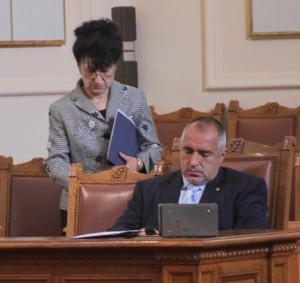 Борисова и Борисов се скараха за доплащането в болниците