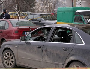 Колата на Папата след атентат