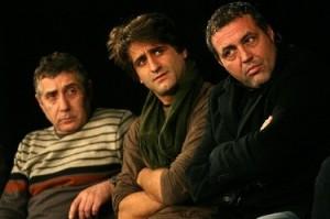 С добрите си приятели Валентин Танев и Филип Аврамов