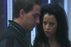 """Елеонора и Давид в къщата на """"Биг брадър"""""""