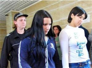 Антония Матева(ляво) и Мария Дръндарова