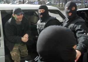Баретата се предаде на полицията на 6 февруари 2009