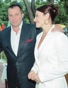 Дарина с покойния си съпруг Илия Павлов