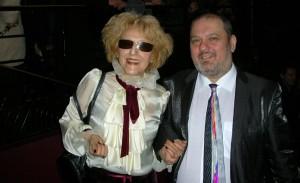 Камен Червеняков с майка си Лили