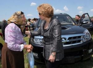 Масларова се среща с пенсионерите