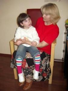 малката татяна и майка й мария