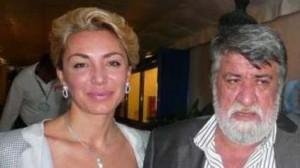 Приятелката на Берлускони Мишел Бонев и Вежди във Венеция