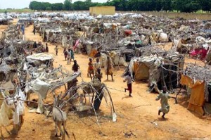 Лагерът за бежанци в Дарфур