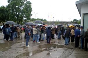 """Юни 2010 протест на работници в """"Леденика"""""""