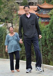 Чанг У Го със съпругата си