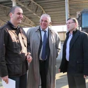 Танов и Цветанов позират засмяни след първите СРС-та