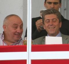 Първанов и Гергов са добри приятели