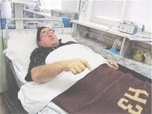 Митьо Пищова в болницата след инфаркта