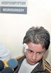 """Пол Боевски, часове след злощастната игра на """"Руска рулетка"""""""