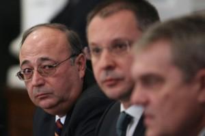 Петко Сертов с бившите си началници