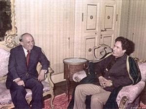 Живков и Кадафи