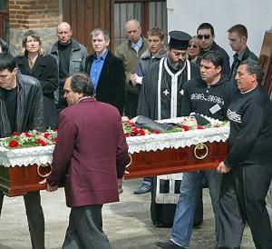 Георги Стове - погребение