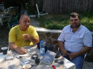 Веселин Стаменов и убитият му колега Георги Стоев