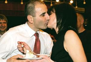Цветанов окепази родителите на обичната си съпруга Деси