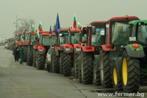 Протест на фермерите